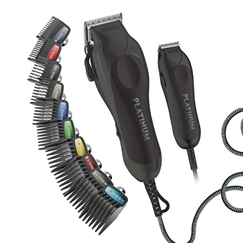 Wahl Clipper Pro Series Platinum Haircutting Combo Kit - Model 79804-100