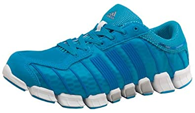 huge selection of f06eb a86b4 Image Unavailable. Image not available for. Colour  adidas Womens ClimaCool  Ride Trainers Blue Silver White ...