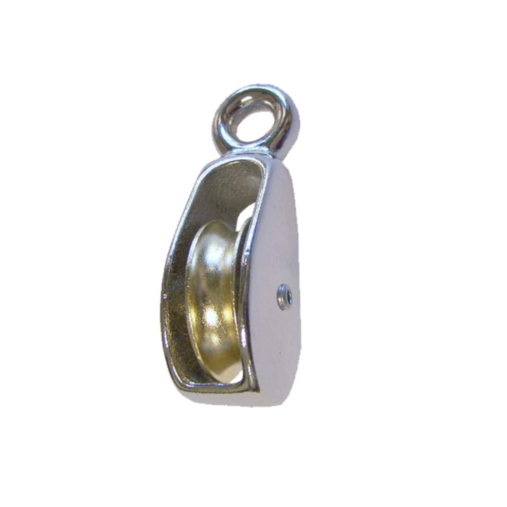 Golberg Single Pack Rigid Eye Wheel Pulley – Comes in a Variety of Sheave Heights for Different Size Ropes