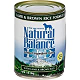 Cheap Natural Balance Limited Ingredient Diets Lamb & Brown Rice Formula Canned Dog Food