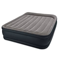 Part of the new dura-beam standard series of airbeds, the deluxe pillow rest raised airbed now features an interior made with Intex innovative fiber-tech construction which is comprised of thousands of high-strength polyester fibers that prov...