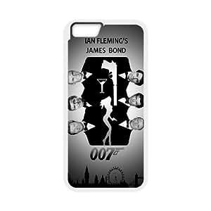 "YUAHS(TM) DIY Cover Case for Iphone6 Plus 5.5"" with James Bond 007 YAS395133"
