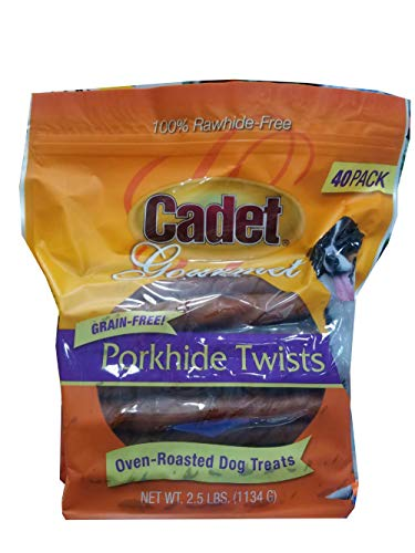 (Cadet Dog Treats (Pork Hide Twists))