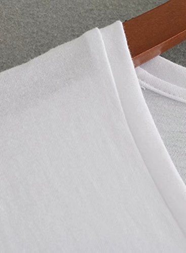 Futurino - Camiseta - para mujer blanco