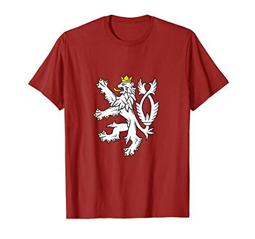 Czech Republic Coat Of Arms Shirt Bohemian Lion Symbol - Czech Coat Arms Of
