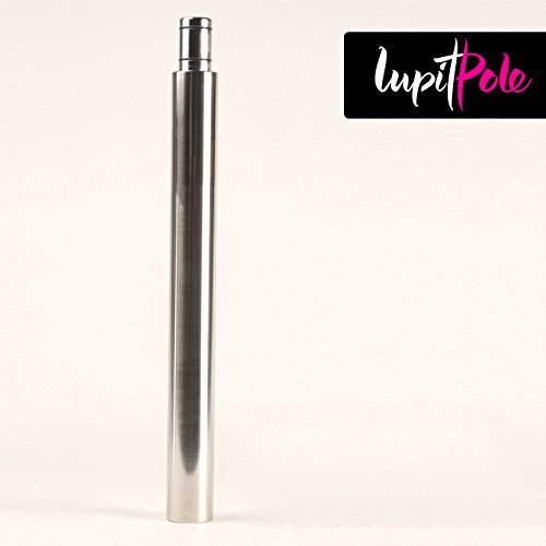 LUPIT POLE CLASSIC/DIAMOND 42mm EXTENSION 400mm (1ft 3.7in), stainless steel, FOR POLE DANCING POLE by LUPIT POLE