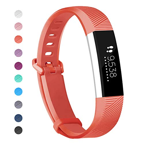 Wekin Compatible with ACE Bands, Soft Silicone Replacement Sport Accessory Wristband Strap for ACE,Alta HR Fitness Tracker Specially Designed for Kid's Wrist (5.0