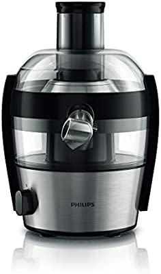 Philips HR1836/00 - Exprimidor eléctrico, 500 W, color gris y ...