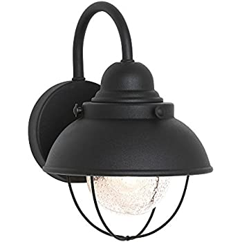 sea gull lighting 8870 12 sebring one light outdoor wall lantern