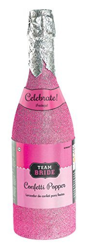 Team Bride Champagne Bottle Party Popper