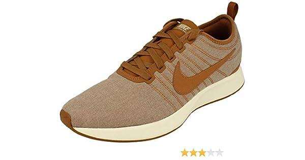 Nike Dualtone Racer PRM Zapatillas Running Hombre 924448 Zapatillas - Ale Blanco Marrón Sail 200, 46: Amazon.es: Zapatos y complementos