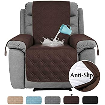 Amazon Com Chhkon Waterproof Nonslip Recliner Cover Stay In Place Dog Couch Chair