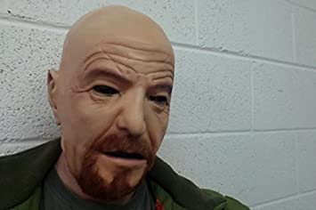 c65dc45743a55a WALTER WHITE masque latex cosplay déguisement neuf  Amazon.fr  Jeux ...