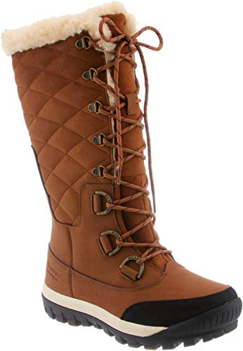 BEARPAW Women's Isabella Winter Boot, Hickory, 8 M US