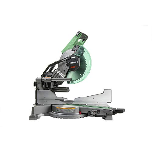 Hitachi C10FSHC 10 in. DB Slide Miter Saw (Renewed) (Hitachi 10 Inch Sliding Compound Miter Saw)