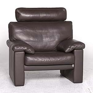 Erpo Designer Leather Armchair Brown Armchair: / SANAA ...