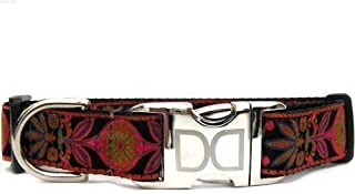 product image for Venice Custom Dog Collar in Ink (Optional Matching Leash Available) XXS
