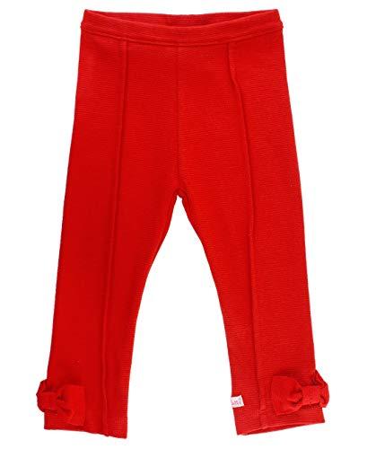 RuffleButts Little Girls Red Ponte Pants - ()
