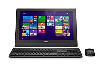 """Dell Inspiron 3043 All-in-One PC - 19.5"""" Display, Intel Celeron N2840 2.16GHz, 4GB RAM, 500GB HD, NON-TOUCH Windows 10 Pro (Certified Refurbished)"""