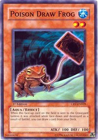 (Yu-Gi-Oh! - Poison Draw Frog (CRV-EN028) - Cybernetic Revolution - 1st Edition - Common)