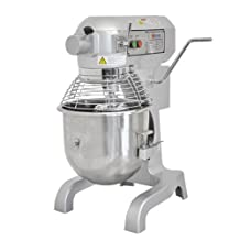 Omcan 20qt Planetary Mixer with Guard and 3 Attachments SP200A