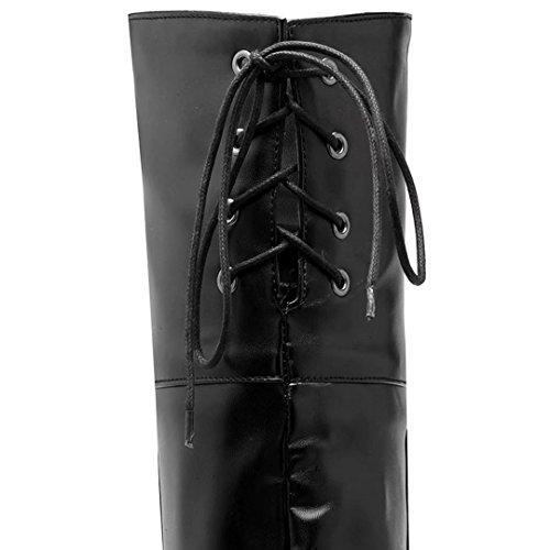 Aiyoumei Naisten Boot Naisten Aiyoumei Aiyoumei Naisten Musta Naisten Aiyoumei Musta Boot Musta Boot Boot 5xgwqzT6