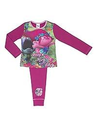 Dremworks Trolls Girls Pyjamas - Age 4-10 Years Various Designs