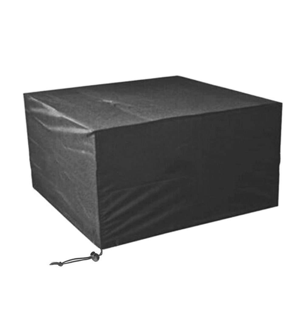 A 120x120x74cm AJZGF en Plein air Prougeection Contre la Pluie pour Le mobilier d'extérieur, Table et Chaise Anti-poussière de Jardin, écran Solaire imperméable