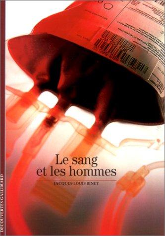 Le Sang et les Hommes (Anglais) Poche – 14 novembre 2001 Jacques-Louis Binet Gallimard 2070761568 379782070761562