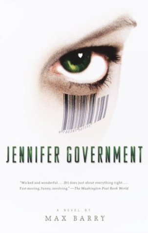 jennifer government And jennifer government, a legendary agent with a barcode tattoo, is a consumer watchdog with a gun chapter 1 • reviews • buy a copy • news • international • extras jennifer government blog.