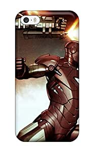 Hot Style KzUjYPg12168serEk Protective Case Cover For Iphone5/5s(iron Man)