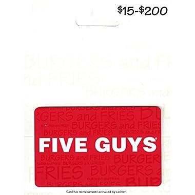 Five Guys Gift Card