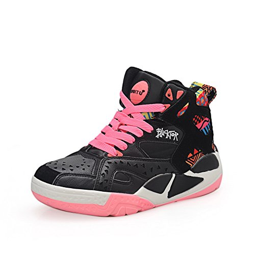 Sneakers nbsp;Color Platform 1TO9 Assorted MMS03722 3 Pink Womens Bandage UK Leather Fashion EIwwq8U