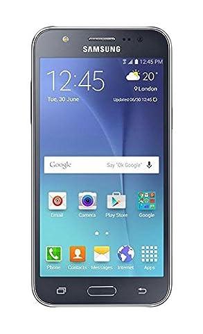 Samsung Galaxy J7 J700H/DS Dual Sim Factory Unlocked Smart Phone - International Version - Black (Unlock Dual Sim Phone)