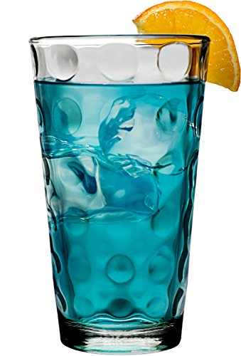 Anchor Hocking 12-Pack Domino Tumbler Beverage Set, 16-Ounce