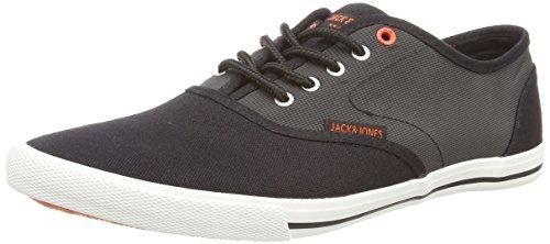 Jack & Jones Jjspider Nylon Sneaker 1 - Zapatillas de Deporte de lona hombre Negro (black)