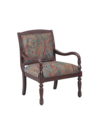 Powell Cherry Chair (Powell 14S2031 Carina Accent Chair)