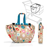 Reisenthel UJ6034 Easy Shopping Bag for supermarket trolleys - funky dots 1 by Reisenthel