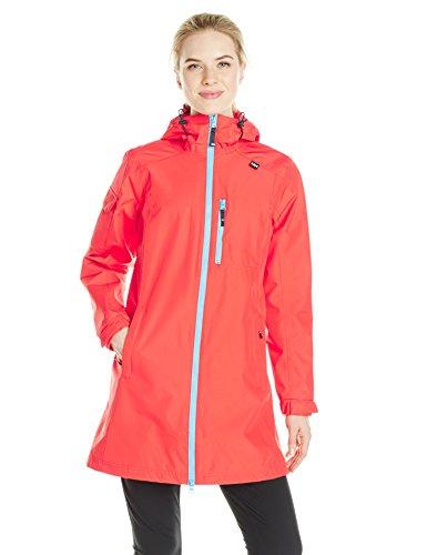 Helly Hansen W Long Belfast Jacket - Chaqueta para mujer, color rojo, talla XS Rojo