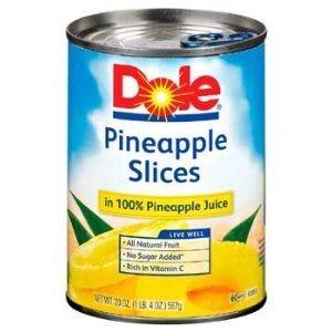 Dole, Pineapple Sliced, 20 Ounce by Dole