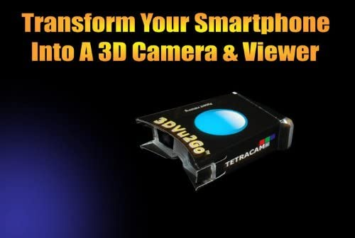 3DVu2Go TETRACAM 3D-Stereobetrachter f/ür Smartphones