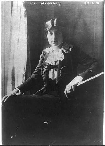Photo: Lili Boulanger, 1893-1918, French composer, younger sister of Nadia Boulanger