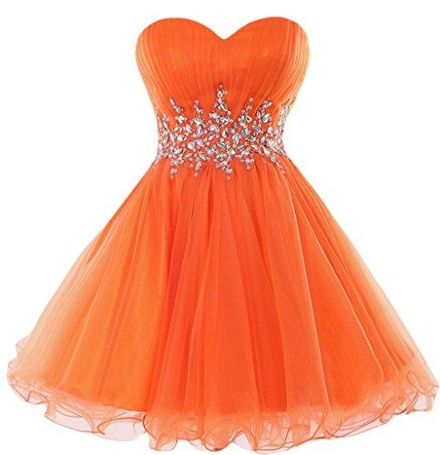 TOSKANA BRAUT - Vestido - Noche - para mujer naranja
