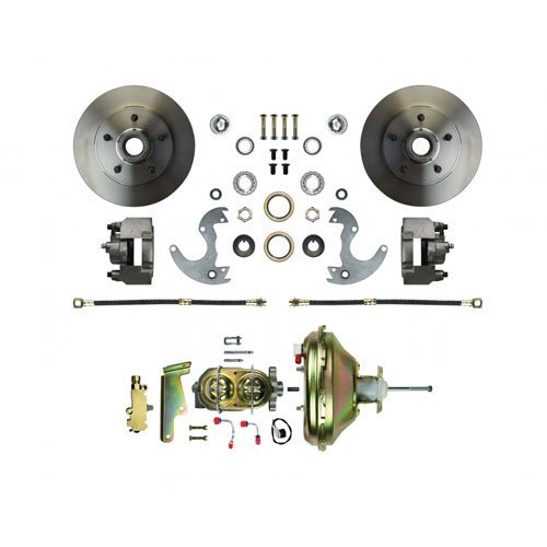 1969 El Camino Disc Brake - The Right Stuff Detailing AFXDC14 Disc Brake Conversion Kit for wheels. A/F/X body vehicles. Booster, Master Cylinder and Valve included.