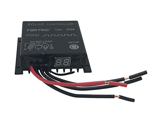 10A PWM Solar Charge Controller IP68 - 1