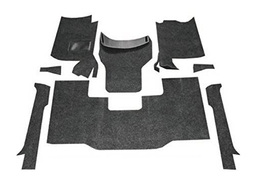 Bed Rug BRCYJ76F Premium Jeep CJ7/YJ 8 Piece Front Kit