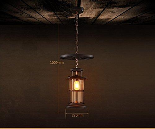 Plafoniere Da Esterno Rustiche : Shengye stile rustico plafoniera lampada a sospensione l industria