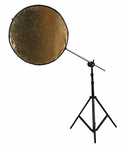 ePhoto 5 in 1 Collapsible Multi Photography Studio Video Reflector Disc Reflector Silver Gold White Black Translecent by ePhoto INC 24''ref by ePhoto