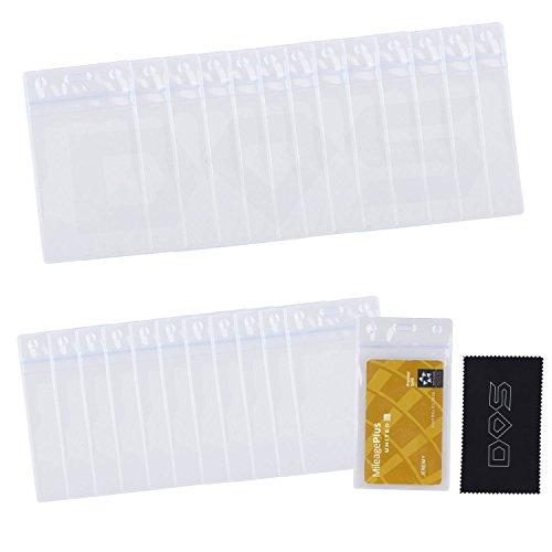 Badge Holder Pack Vertical Transparent product image