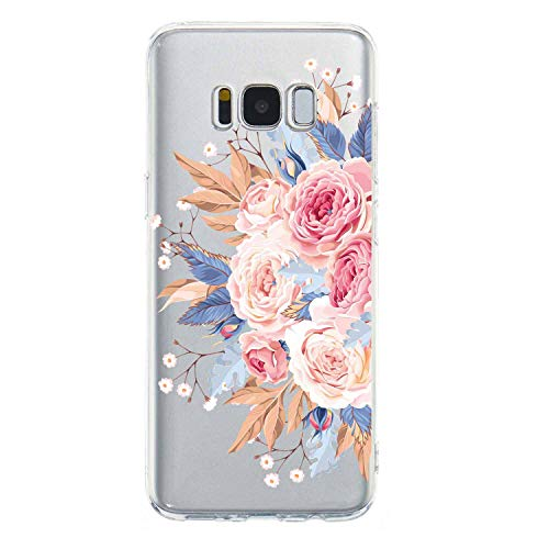 Sexy Floral Phone Case for Samsung S8 S9 S10 Plus S10lite J3 J4 J5 J6 J7 Plus A5 A6 A8 A7 2018 Note 9 Lace Flower Silicone Cases,I,S10